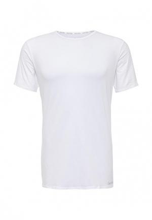 Футболка домашняя Calvin Klein Underwear. Цвет: белый