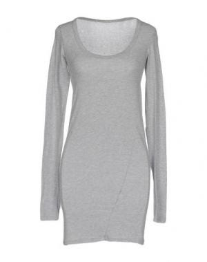 Короткое платье VICOLO NORTHLAND. Цвет: светло-серый