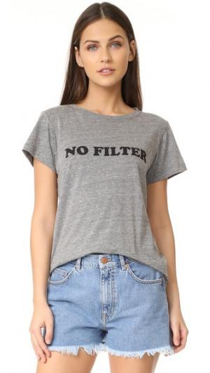 Футболка No Filter A Fine Line. Цвет: голубой