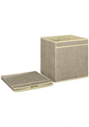 Коробка, 2 штуки Heine. Цвет: белый, серый