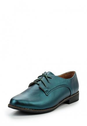 Ботинки Catisa. Цвет: зеленый