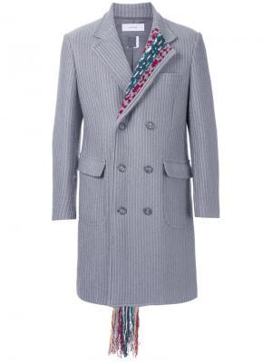 Пальто  Chester Facetasm. Цвет: серый