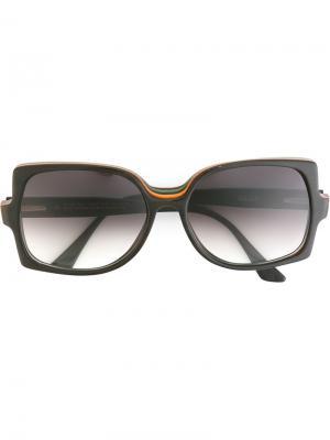 Солнцезащитные очки Eefke Ralph Vaessen. Цвет: чёрный