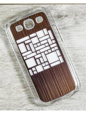 Чехол для телефона Samsung Galaxy S3 GT-I9300/GT-I9300I MACAR. Цвет: серый