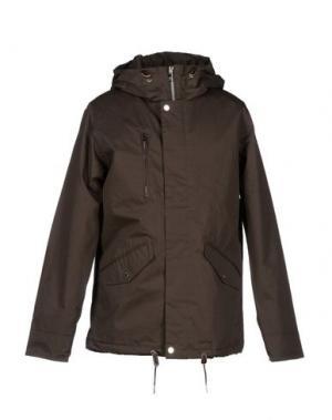 Куртка ELVINE. Цвет: темно-коричневый