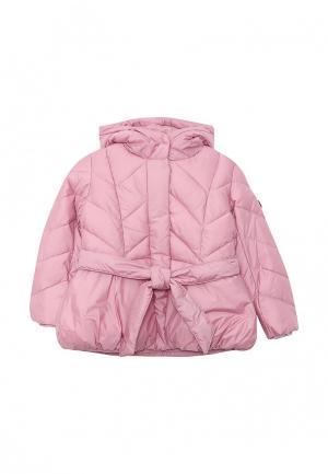 Куртка утепленная Gulliver. Цвет: розовый