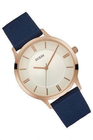 Наручные часы Guess. Цвет: rose gold and blue