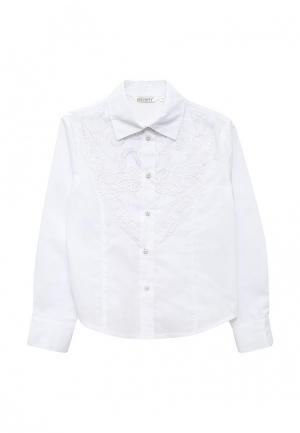 Блуза Cleverly. Цвет: белый