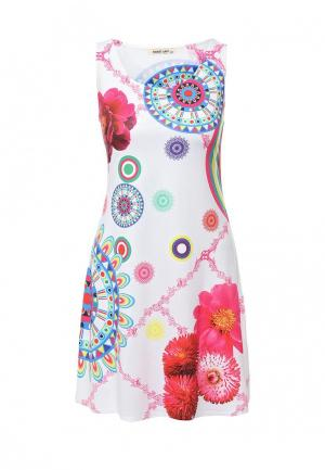 Платье Sweet Lady. Цвет: белый