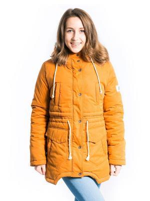Куртка Анита Аксарт. Цвет: терракотовый