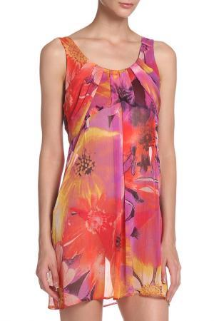 Платье MODART. Цвет: мультиколор