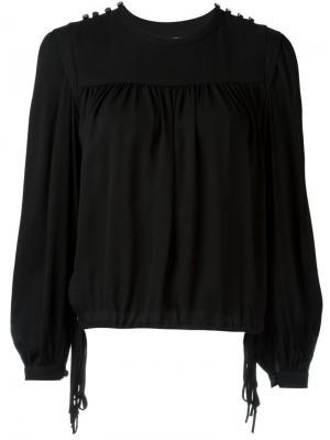 Блузка Nathael Isabel Marant Étoile. Цвет: чёрный