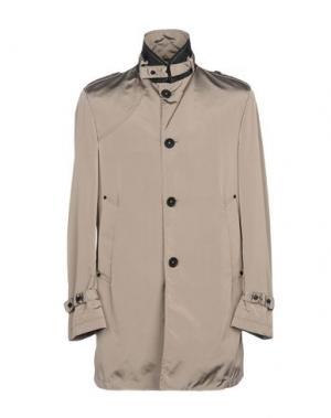 Легкое пальто CALVARESI. Цвет: бежевый
