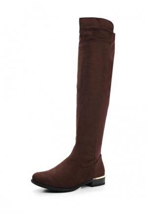 Ботфорты Y & L. Цвет: коричневый