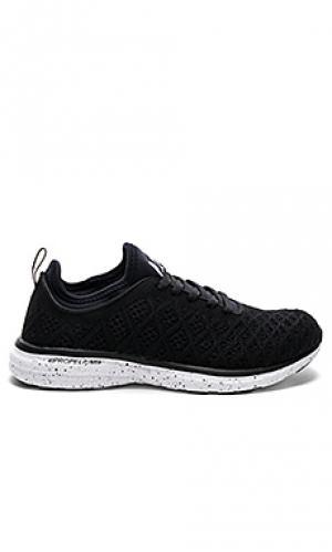 Кроссовки для бега techloom Athletic Propulsion Labs: APL. Цвет: черный