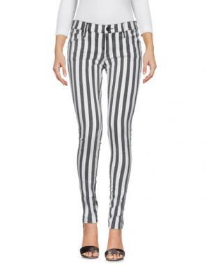 Джинсовые брюки SOALLURE. Цвет: черный