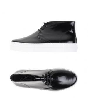 Высокие кеды и кроссовки HODRY. Цвет: черный