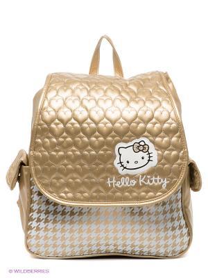 Рюкзак Hello Kitty. Цвет: золотистый, белый