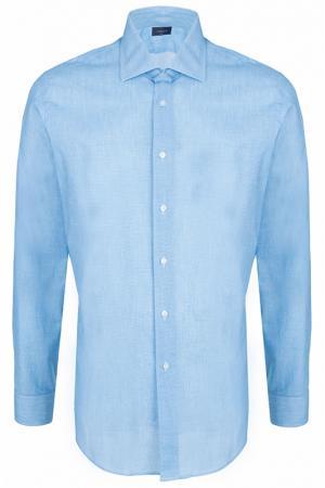 Рубашка Tombolini. Цвет: голубой