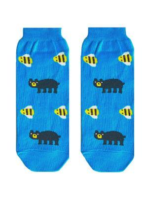 Носки Big Bang Socks. Цвет: лазурный