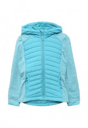 Куртка утепленная Modis. Цвет: голубой