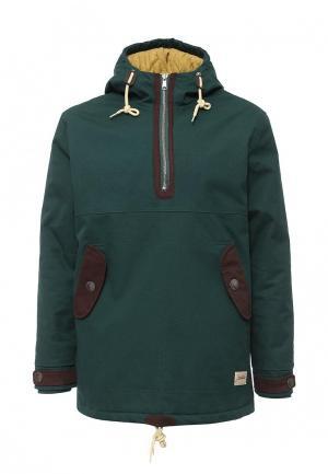 Куртка утепленная Запорожец Heritage. Цвет: зеленый