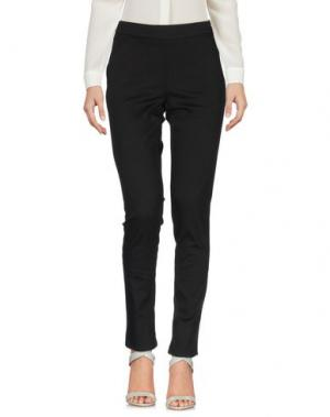 Повседневные брюки IVORIES. Цвет: черный