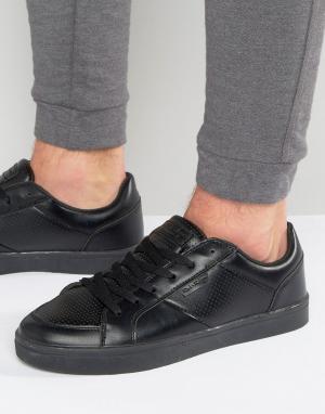 Rock & Religion Низкие кроссовки. Цвет: черный