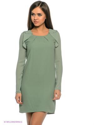 Платье Motivi. Цвет: зеленый