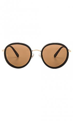 Солнцезащитные очки montclair Wonderland. Цвет: черный