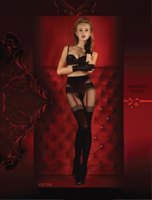 Колготки - Красный Ballerina