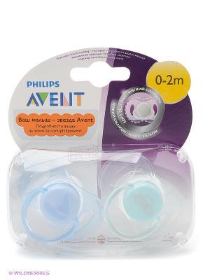 Мини-пустышки для девочек Philips Avent SCF151/02 серия самых маленьких, 2 шт., 0-2 мес.. Цвет: прозрачный, розовый