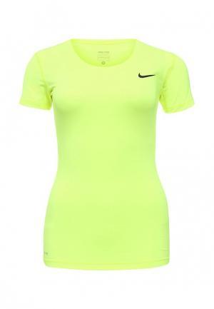 Футболка Nike. Цвет: зеленый