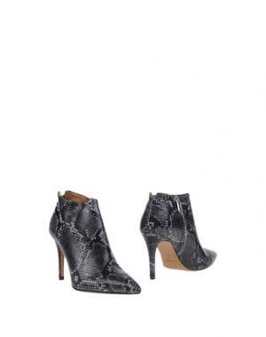 Ботинки BIANCA DI. Цвет: стальной серый