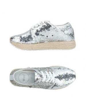 Обувь на шнурках WOZ?. Цвет: серый