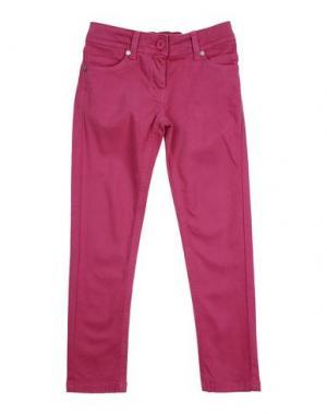 Повседневные брюки MANILA GRACE DENIM. Цвет: светло-фиолетовый