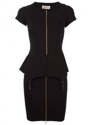 Платье Fold Murmur. Цвет: чёрный