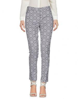Повседневные брюки PESERICO SIGN. Цвет: серый