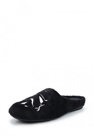 Тапочки Costa. Цвет: черный