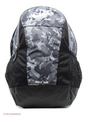 Рюкзак NIKE YA MAX AIR TT SM BACKPACK. Цвет: черный, серый
