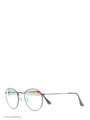 Очки солнцезащитные ROUND METAL Ray Ban. Цвет: черный