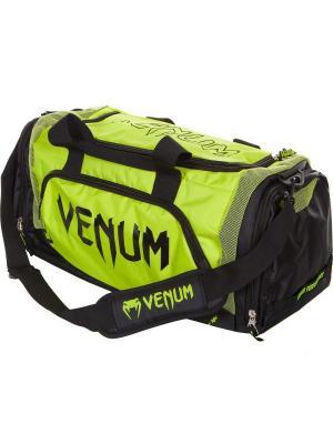 Сумка Venum Trainer Lite Sport Bag - Black/Yellow. Цвет: черный, желтый