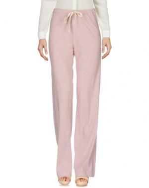 Повседневные брюки ZHELDA. Цвет: розовый