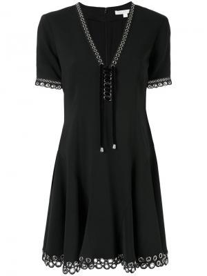 Расклешенное платье Grommet Jonathan Simkhai. Цвет: чёрный