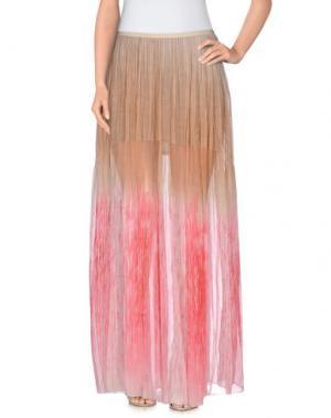 Длинная юбка MARTA MARTINO. Цвет: розовый