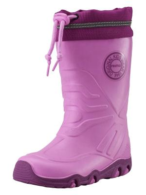 Резиновые сапоги Reima. Цвет: розовый