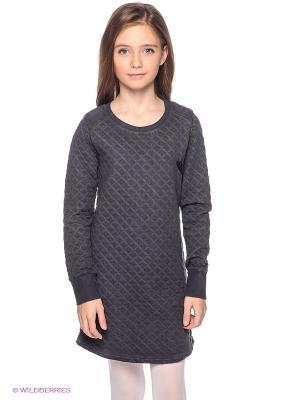 Платье GARCIA. Цвет: темно-серый