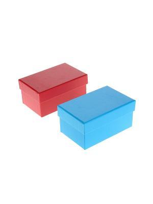 Коробка подарочная - 2 шт. Migura. Цвет: красный, синий