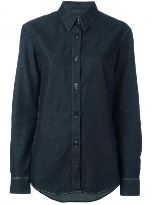 Джинсовая рубашка Lemaire. Цвет: синий