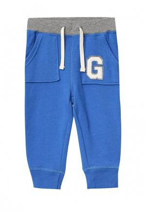 Брюки спортивные Gap. Цвет: синий